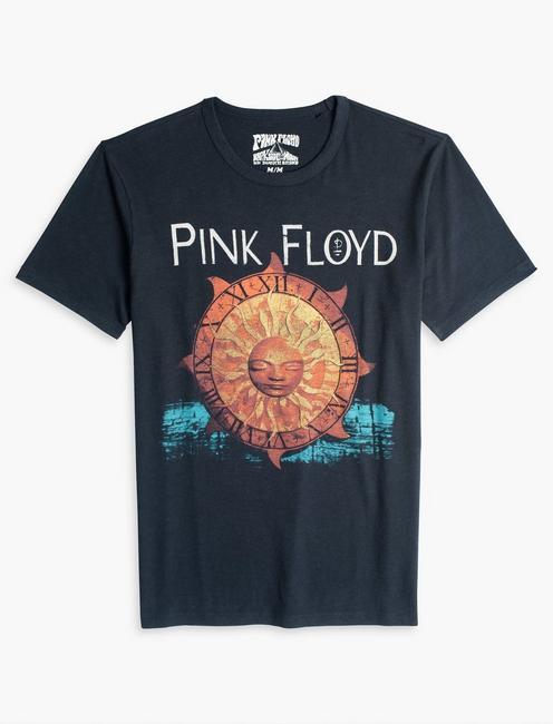 PINK FLOYD SUN TEE, JET BLACK