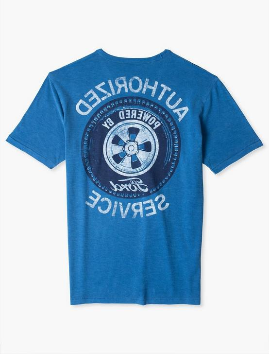 FORD SERVICE TEE, MONACO BLUE, productTileDesktop