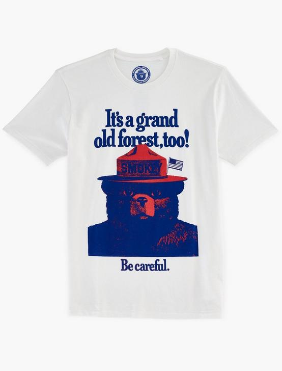 SMOKEY GRAND OLD FOREST TEE, BRIGHT WHITE, productTileDesktop