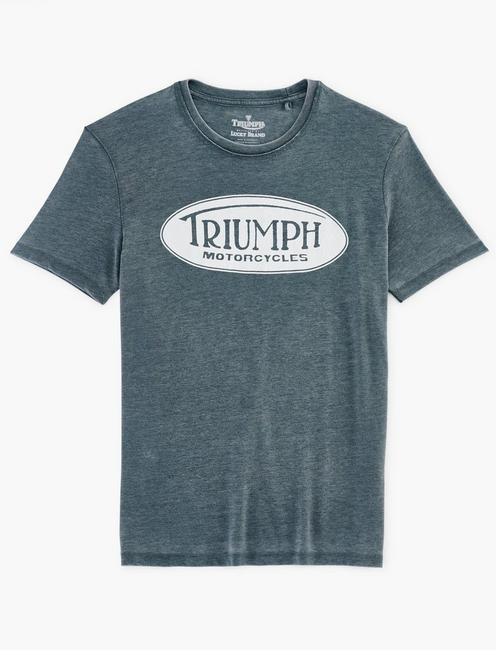TRIUMPH OVAL TEE,