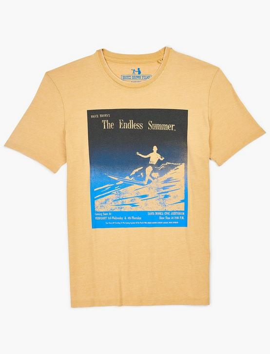 ENDLESS SUMMER TEE, DUSTY GOLD, productTileDesktop