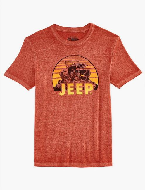 Jeep On Rocks Tee