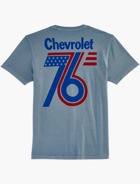 CHEVROLET 76 TEE, DUSTY BLUE, productTileDesktop