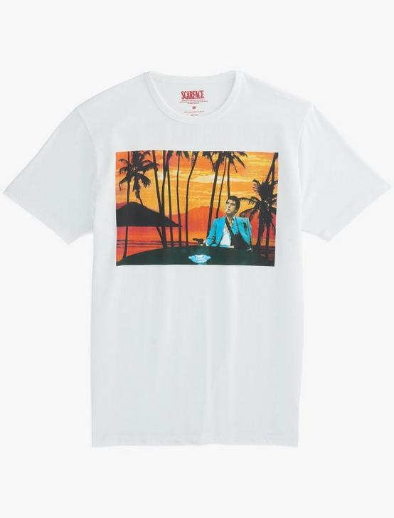 SCARFACE PHOTO TEE, BRIGHT WHITE, productTileDesktop
