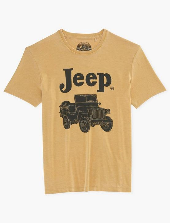 JEEP TEE, DUSTY GOLD, productTileDesktop