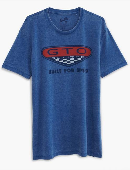 GTO BADGE TEE, MONACO BLUE