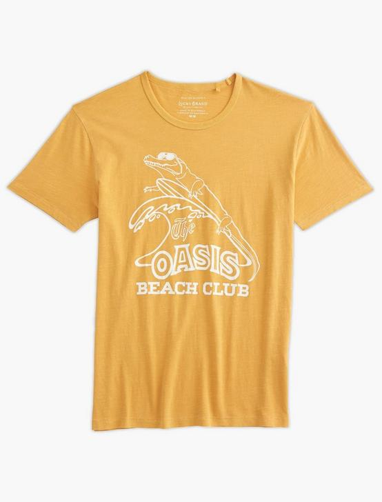 OASIS BEACH CLUB TEE, OCHRE, productTileDesktop