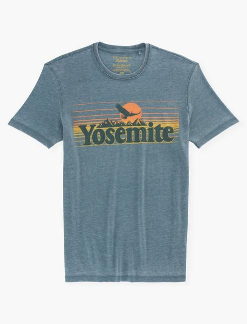 YOSEMITE EAGLE TEE, DARKEST SPRUCE