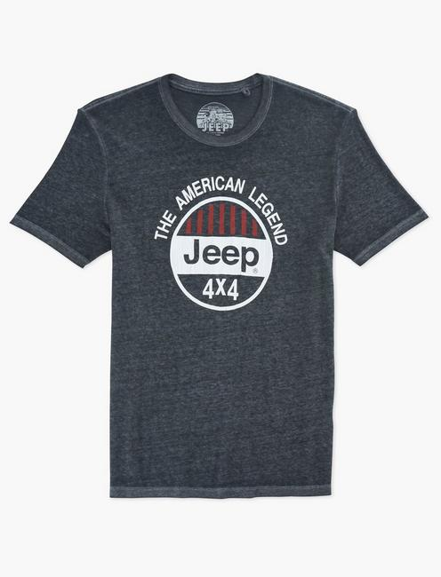 JEEP 4X4 TEE, JET BLACK