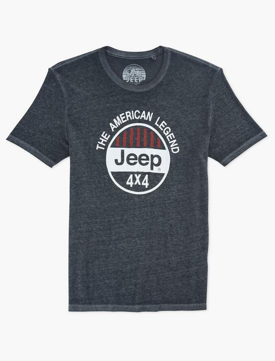 JEEP 4X4 TEE, JET BLACK, productTileDesktop