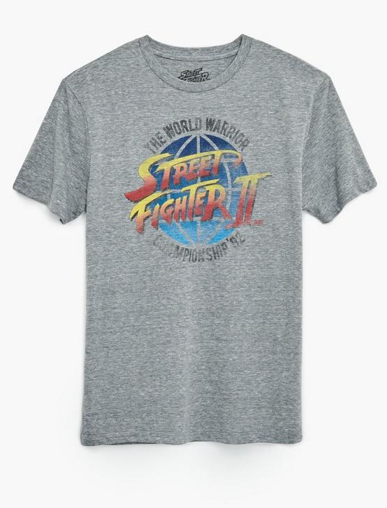 STREET FIGHTER TEE, GREY, productTileDesktop