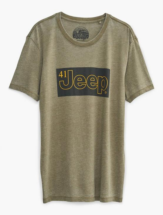 JEEP 41 TEE, DARK OLIVE, productTileDesktop