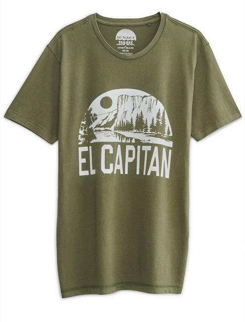 EL CAPITAN TEE, DARK OLIVE