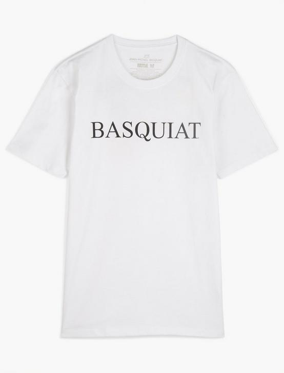 BASQUIAT TEE, BRIGHT WHITE, productTileDesktop
