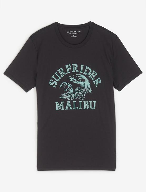 SURFRIDER MALIBU TEE, BLACK ONYX, productTileDesktop