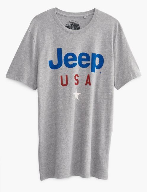 JEEP USA STAR TEE, GREY