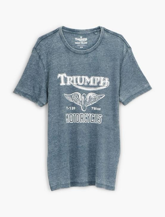 TRIUMPH WING WHEEL TEE
