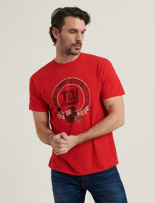 NEW YORK GIANTS TEE, 636 RED