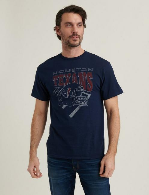 HOUSTON TEXANS TEE, AMERICAN NAVY