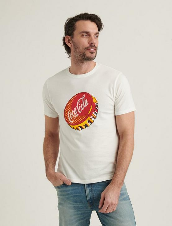 COKE POP GIRL TEE, BRIGHT WHITE, productTileDesktop
