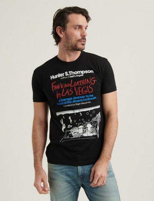 FEAR AND LOATHING IN LAS VEGAS TEE, JET BLACK