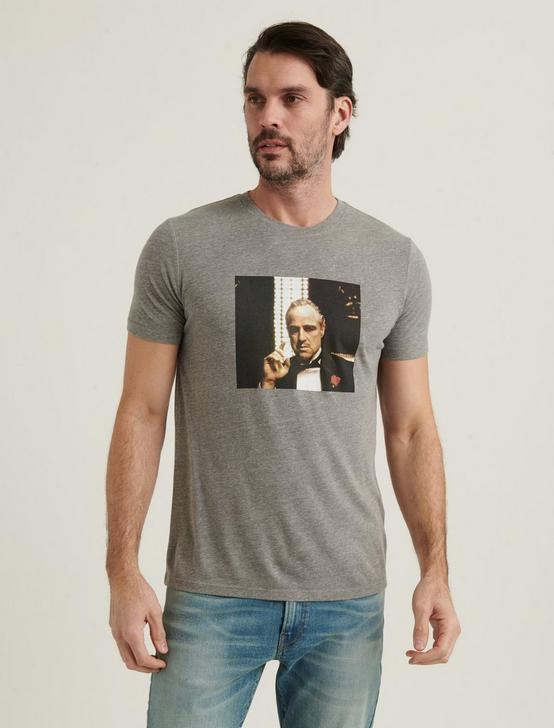 BRANDO GODFATHER TEE, HEATHER GREY, productTileDesktop
