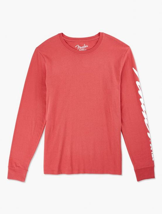 FENDER STRAT TEE, MINERAL RED, productTileDesktop