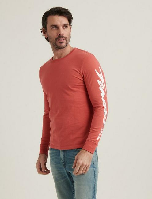 FENDER STRAT TEE, MINERAL RED