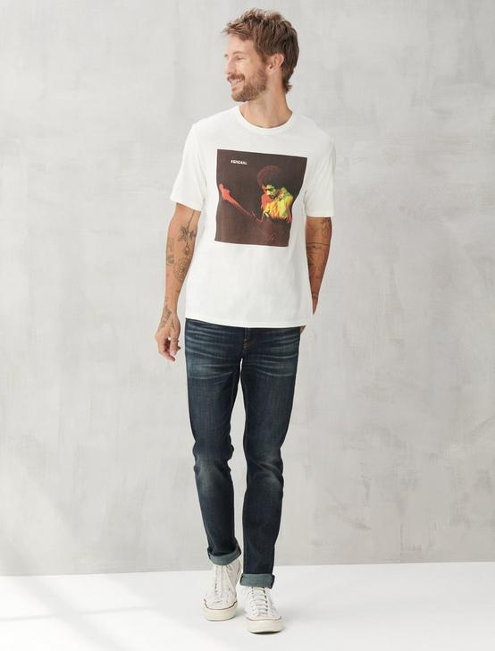 HENDRIX ALBUM TEE, BRIGHT WHITE, productTileDesktop