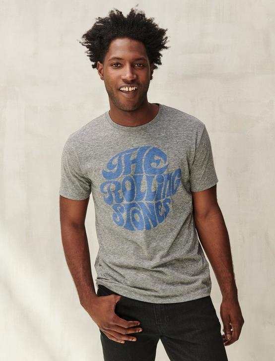 THE ROLLING STONES TEE, GREY, productTileDesktop