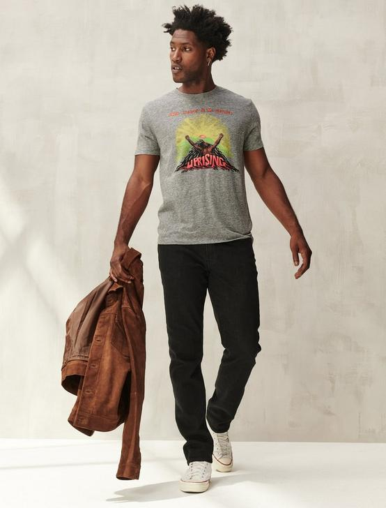 BOB MARLEY & THE WAILERS TEE, GREY, productTileDesktop