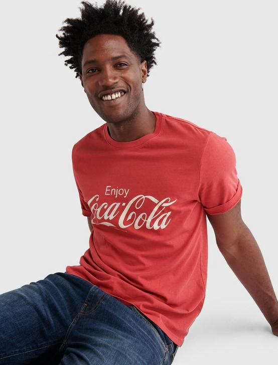 COCA-COLA CORE TEE, RIBBON RED, productTileDesktop
