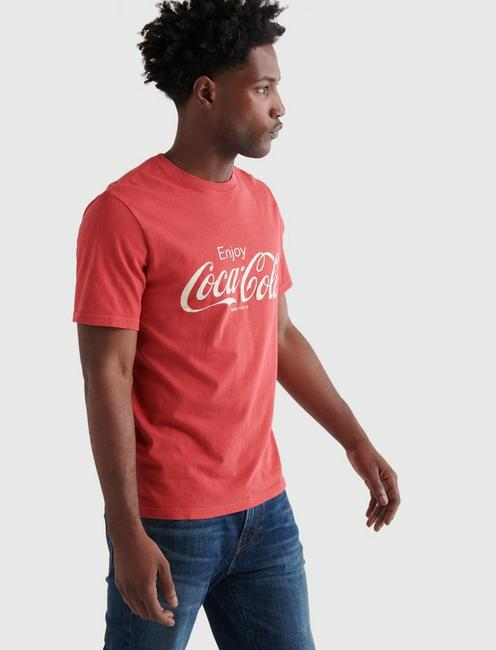 COCA-COLA CORE TEE, RIBBON RED