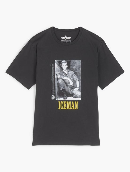 TOP GUN ICE MAN TEE, JET BLACK, productTileDesktop