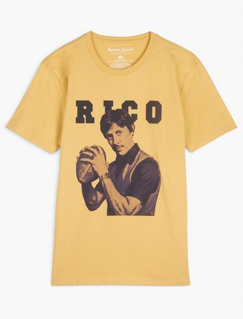 UNCLE RICO TEE, OCHRE