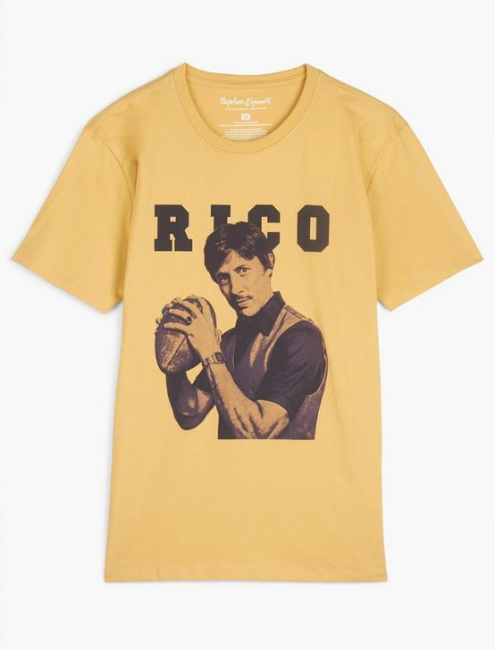 UNCLE RICO TEE, OCHRE, productTileDesktop