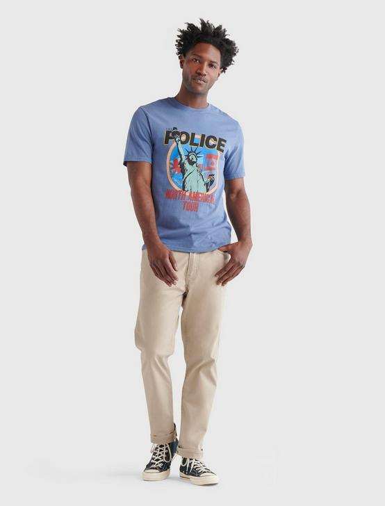 THE POLICE TEE, ENSIGN BLUE, productTileDesktop