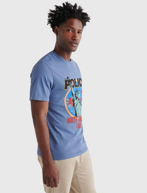 THE POLICE TEE, ENSIGN BLUE