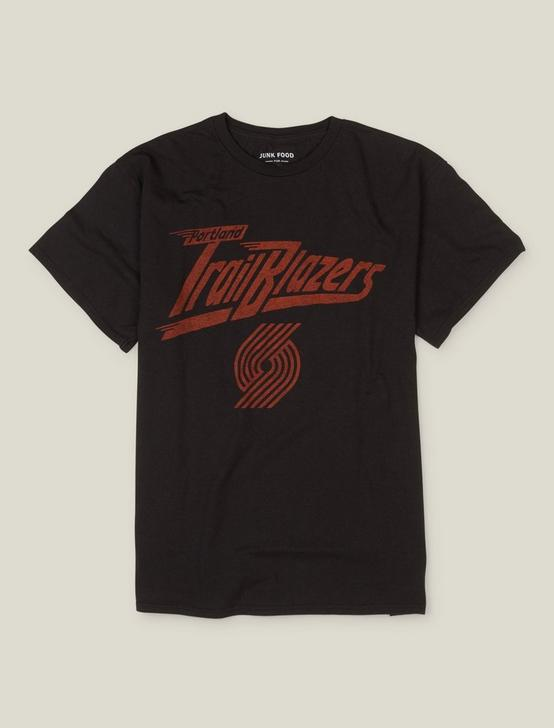 PORTLAND TRAILBLAZERS TEE, JET BLACK, productTileDesktop
