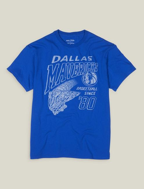 DALLAS MAVERICKS TEE, MONACO BLUE