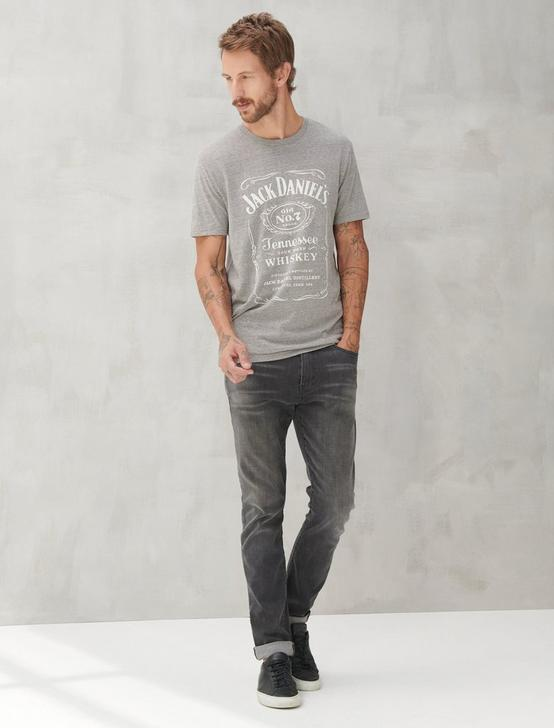 BLACK JACK DANIELS TEE, GREY, productTileDesktop