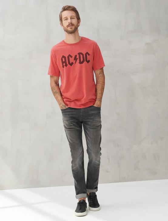 ACDC MARKER TEE, POMPEIAN RED, productTileDesktop