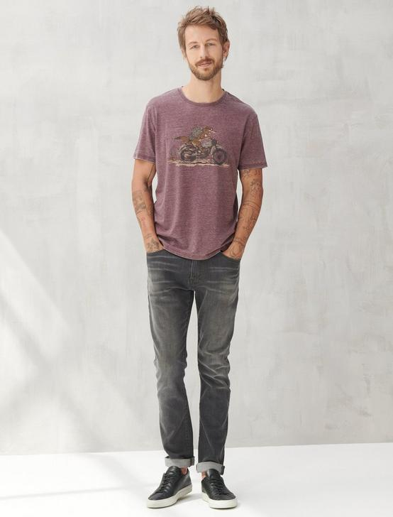 COYOTE BIKER TEE, PORT ROYALE, productTileDesktop