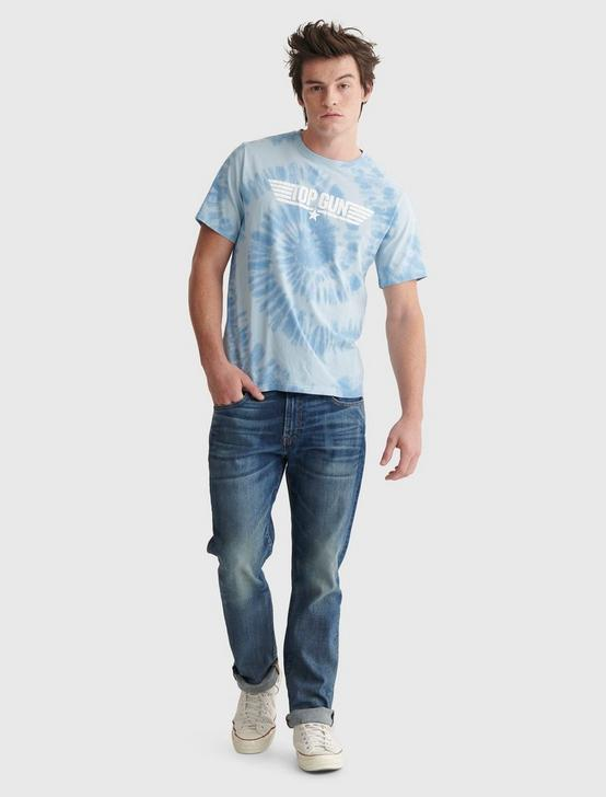 TOP GUN TIE DYE TEE, ALLURE, productTileDesktop