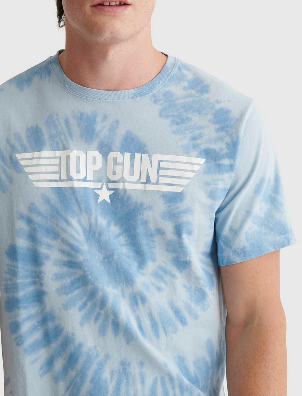 TOP GUN TIE DYE TEE, image 4