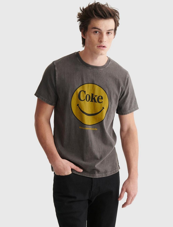 COKE SMILEY TEE, image 1