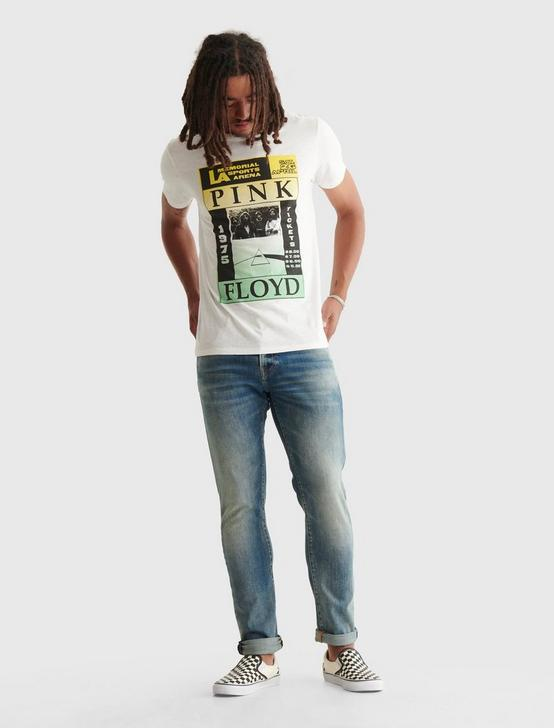 PINK FLOYD POSTER TEE, BRIGHT WHITE, productTileDesktop