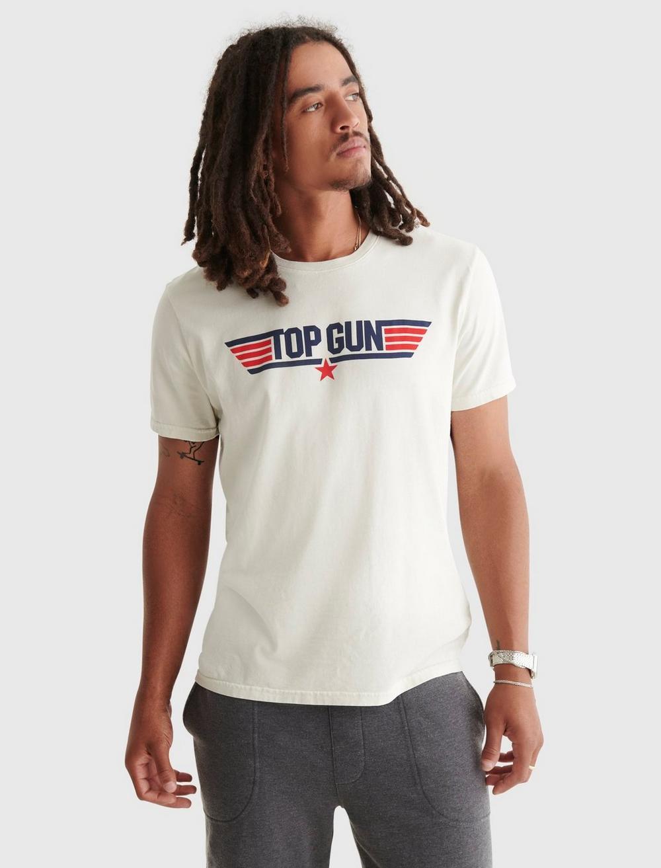 TOP GUN LOGO TEE, image 1