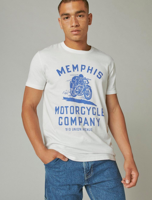 MEMPHIS MOTOR CO TEE, image 1