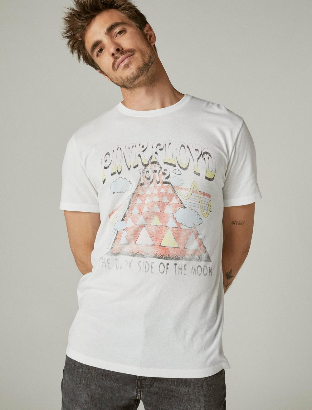 PINK FLOYD TRIANGLE GRAPHIC TEE, image 1